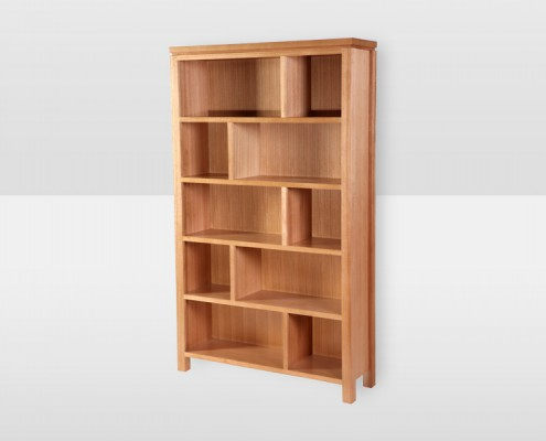 Roma Staggered Bookcase