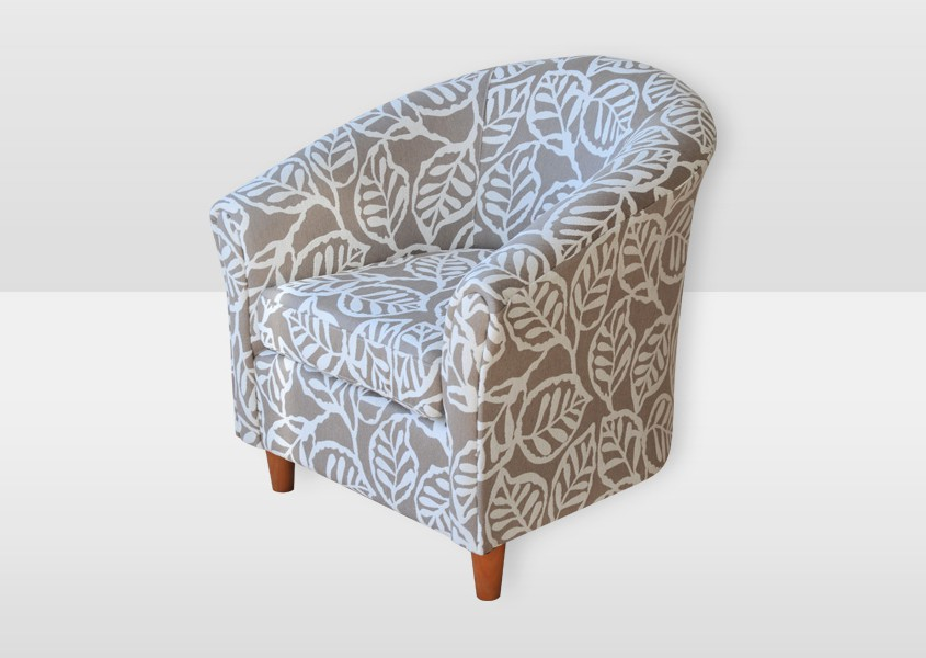 Custom Designs Furniture | Bella Tub Chair