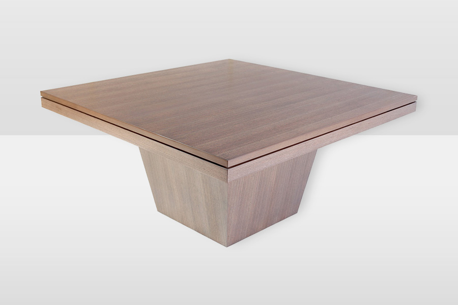 Boston Dining Table With Tapered Box Base