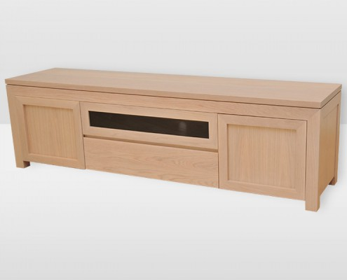 Boston TV Unit Oak