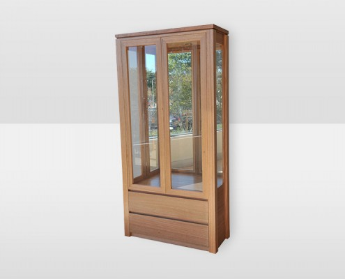 Jordan Display Cabinet Tasmanian Oak