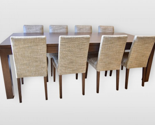 Boston Dining Table with CD-6 Chairs