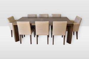Savannah Dining Table with set of 8 CD-6 chairs