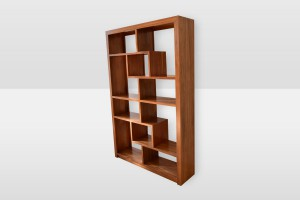 Lunar Staggered Bookcase